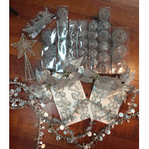 Kit 60 Adornos Alambre Para Arbol De Navidad - Sheshu Bazar