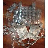 Kit 60 Adornos Alambre Para Arbol De Navidad - Sheshu