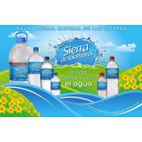 Agua Mineral Natural Sierra De Los Padres Bidon 6,5lt