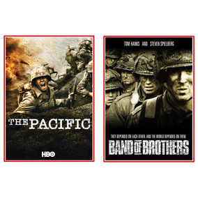 The Pacific + Band Of Brothers Completo Dublado Frete Grátis