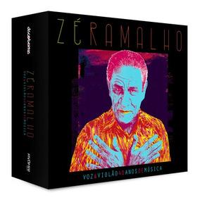 Cd Box Zé Ramalho - Voz & Violão - 40 Anos De Música (2016)