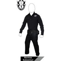 ¡oferta! Uniforme Para Policía, Fabricación Normas Subsemun