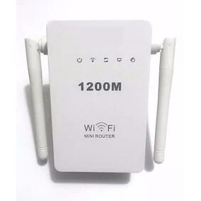 Wifi Repetidor Extensor Wireless 2antenas 1200mbps + Rápido