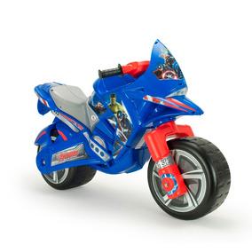 Montable Moto Correpasillos Hawk Avengers Injusa
