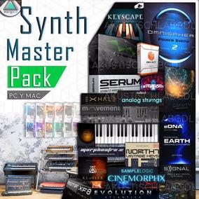 Synth Master Pack Sintetizadores Vst Samples Motif Roland