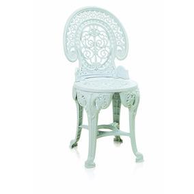 2 Cadeira Plástica Colonial Desmontável Rústico Branca