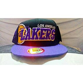 Gorra Newera Los Angeles Lakers Nba Snapback Vicera Plana