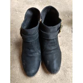 Calzado Mujer Texanas Zapato Borcego 40