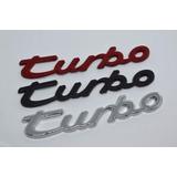 Emblema Turbo Porsche Cayenne Boxster Carrera Cayman Panamer