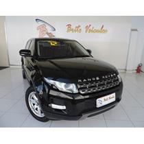 Land Rover Range Rover Evoque 2.0 Pure Tech 4wd 16v 2012