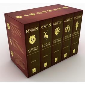 Game Of Thrones Crônicas Gelo Fogo - Box Livros Pocket - Red