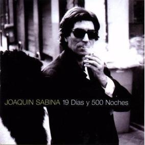 Vinilo Lp Joaquin Sabina 19 Dias Y 500 Noches Doble