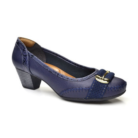 Sapato Afivelado Firezzi - Marinho