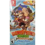 Donkey Kong Country Tropical Freeze Nintendo Switch Español