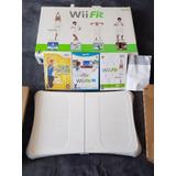 Wii Fit Nintendo Original 3 Juegos Wii U