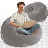 Silla Tipo Puff Inflable Sillón Intex Adulto Individual Sofa