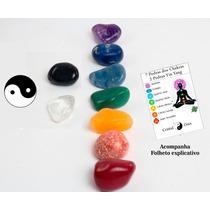 Kit 7 Chakras + Yin Yang |9 Pedras (2 A 2,5 Cm)