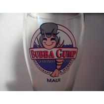 Vaso Copa Bubba Gump Maui Hawai Souvenir Bar Restaurate Beer