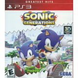 Sonic Generations (nuevo Sellado) - Play Station 3