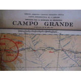 Mapa Plano 1946 Campo Grande Instituto Geografico Militar