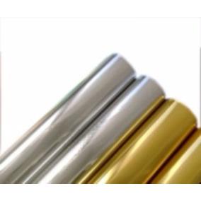 Foil Prata Ou Dourado / Ouro 10 Metros X 30cm Largura Bobina