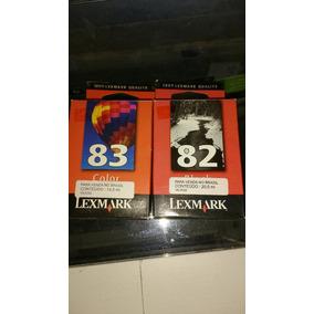 Cartuchos Lexmark 82 18l0032/ 83 18l0042 Original Vencido