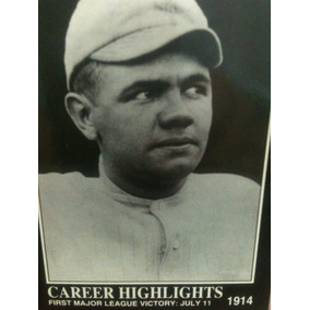 Babe Ruth-(60pz)- Año1992-tarjetas De Beis Bol-vintage