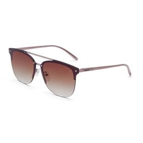 Oculos Solar Colcci C0068 B1234 Rosê Lente Marrom Degradê