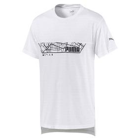 Camisa Puma Triblend Graphic Tee White - Originais