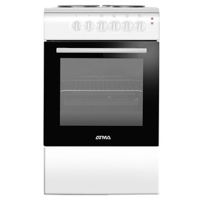 Cocina Electrica Atma 50cm Cce3110b Blanca
