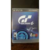 Juego Gran Turismo 6 De Ps3