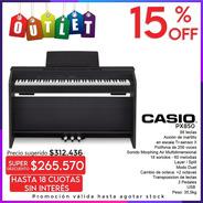 Casio Privia Px850 Piano Digital 88 Teclas + Mueble Outlet