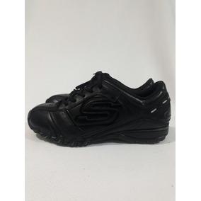 Zapatilla Escolar De Cuero Marca Skechers N°36.5