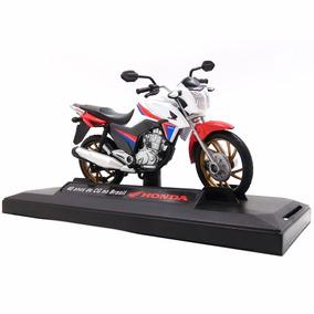 2 Unidades Moto Honda Cg 160 Titan 40 Anos 1/18 Duas Rodas