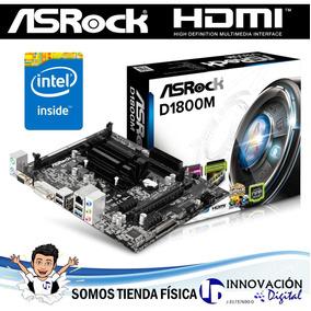 Combo Tarjeta Madre Asrock D1800m Con Intel Dual Core J1800