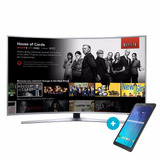 Smart Tv Curvo Uhd 4k Samsung 78 78ku6500 + Tablet De Regalo