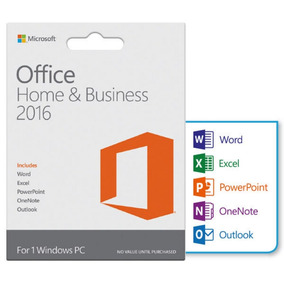 Licença Key Office Home E Business 2016 Vitalícia