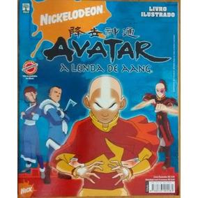 A1325 Álbum Figurinha Completo Colado Avatar A Lenda De Aang