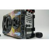 Cabina Portátil 1800w - Bluetooth - Karaoke - Recargable