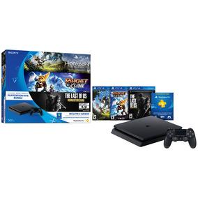 Playstation Ps4 Sony 500gb(horizon/ Ratchet /the Last Of Us)