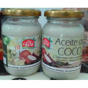 Aceite De Coco, Extra Virgen, Puro, Cosmético Y Comestible