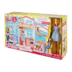 Barbie Nova Casa De Férias 2017 Com Boneca - Mattel