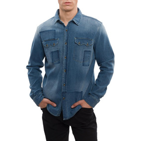 Camisa Jeans Ricciardi Denim Dijon