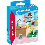 Playmobil Niña Hora De Lavado De Dientes Special Plus 70301