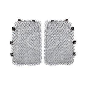 Kit Parrilla Completa T660 Alambre Aluminio Cromado No.8163