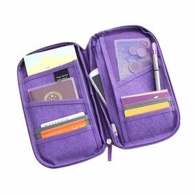 Promoção! Porta Passaporte Viagem Cartão Laranja Ou Violeta!