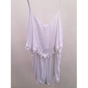 Jumpsuit Corto (short) Color Blanco