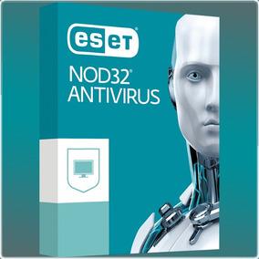 Licencia Antivirus Nod32 Version 10 // 3pc X 1 Ano Original.