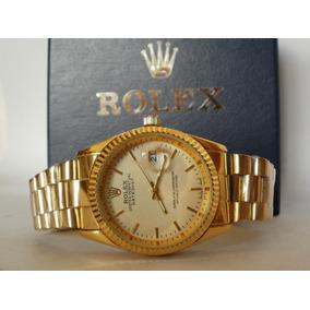 Precioso Reloj Rolex Presidente , Fechador, Subasta Desde $1