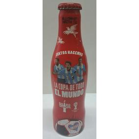 Botella De Coca Cola Aluminio Edic Lim. Mundial Brasil 2014